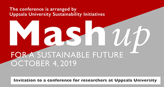 Mash Up for a Sustainable Future - a conference for researchers at Uppsala University